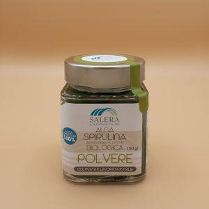 Polvere di alga spirulina biologica Salera